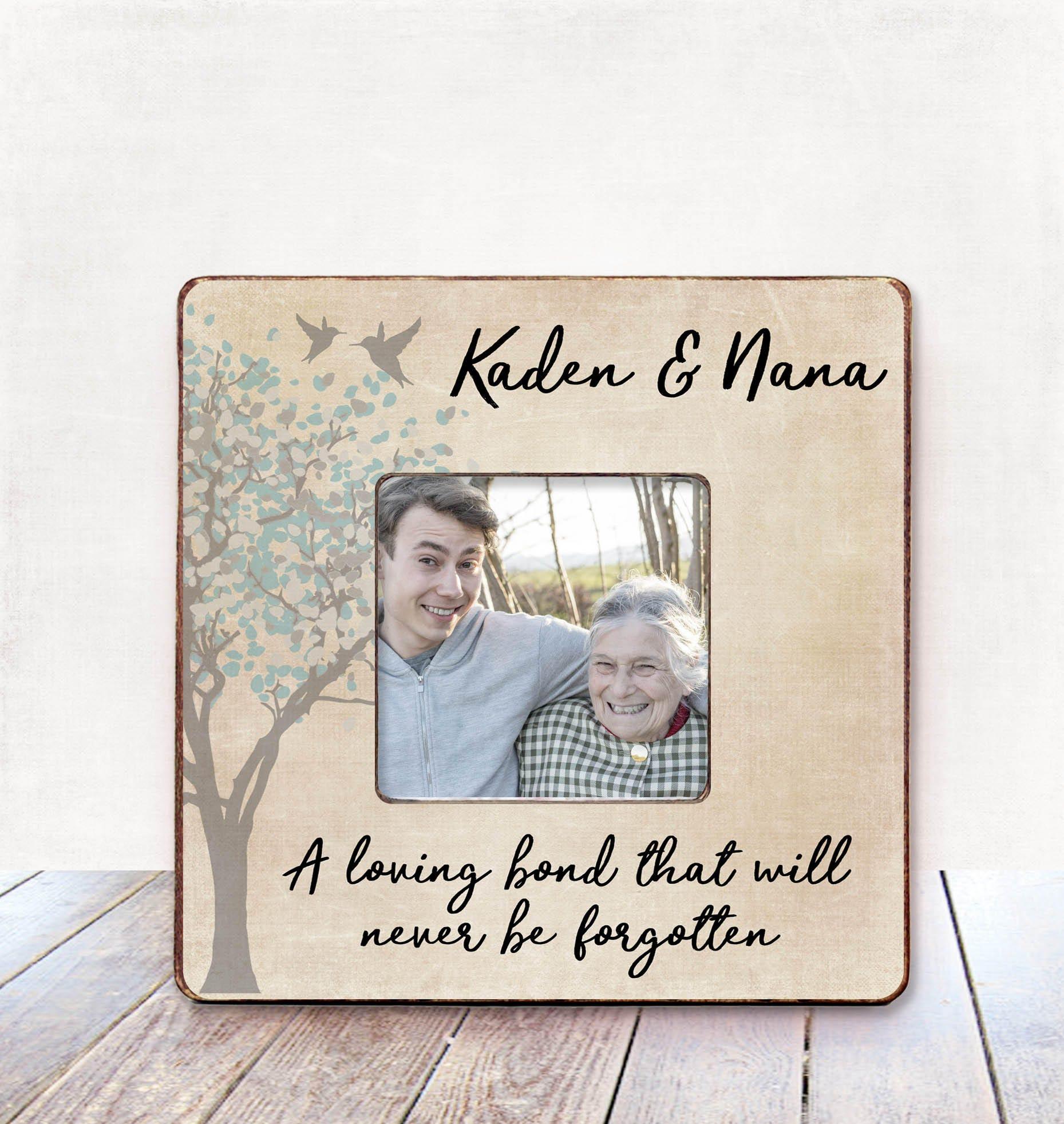 Grandma Memorial frame Sympathy Gift Condolences Gift Memorial | Etsy