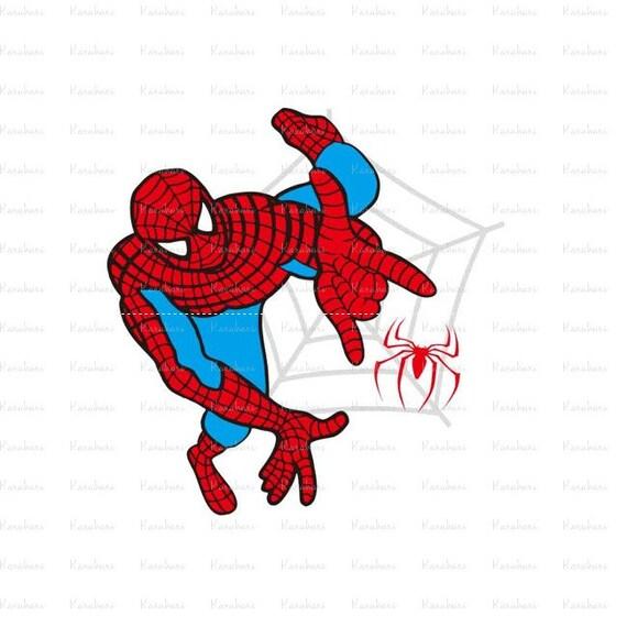 spider man svg file superhero svg superhero logo cricut etsy