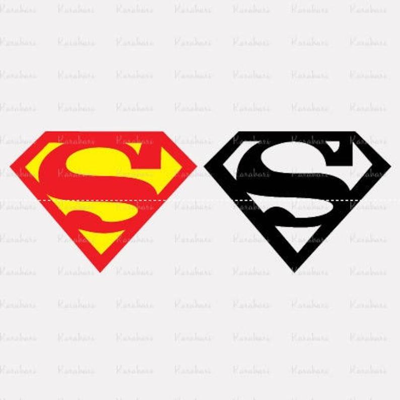 High Quality Superman Svg Bundle Svg Dxf Eps Png Ai Digital Etsy