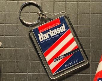 Barbasol Cryo Can Keychain Jurassic Park (Keychain only)