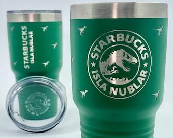 Starbucks: Isla Nublar 30 Oz Tumbler with Lid