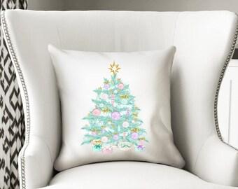 Christmas Pillow, Christmas Pillow Cover, Christmas Decor, Holiday Pillow, Throw Pillow, Christmas Decorative Pillow, Chrismas Home Decor