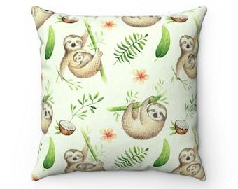 08961ef2de2 Sloth Cushion Cover