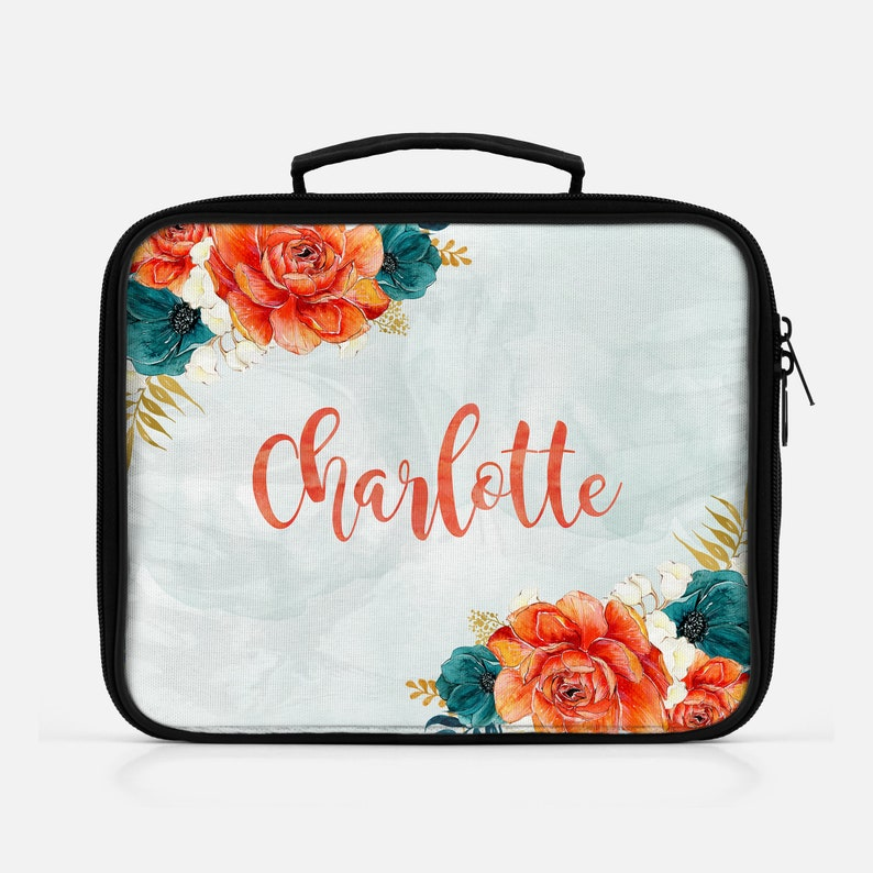 Personalized Lunch Bag For Women Lunch Bag Lunch Tote image 0