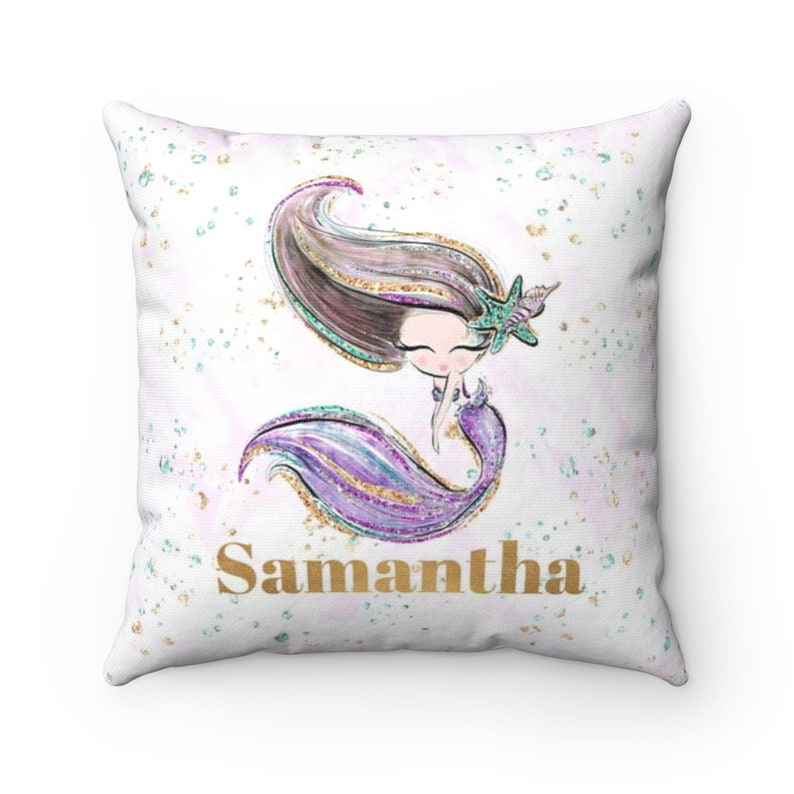 Mermaid Cushion / Mermaid Pillow / Mermaid / Mermaid image 0