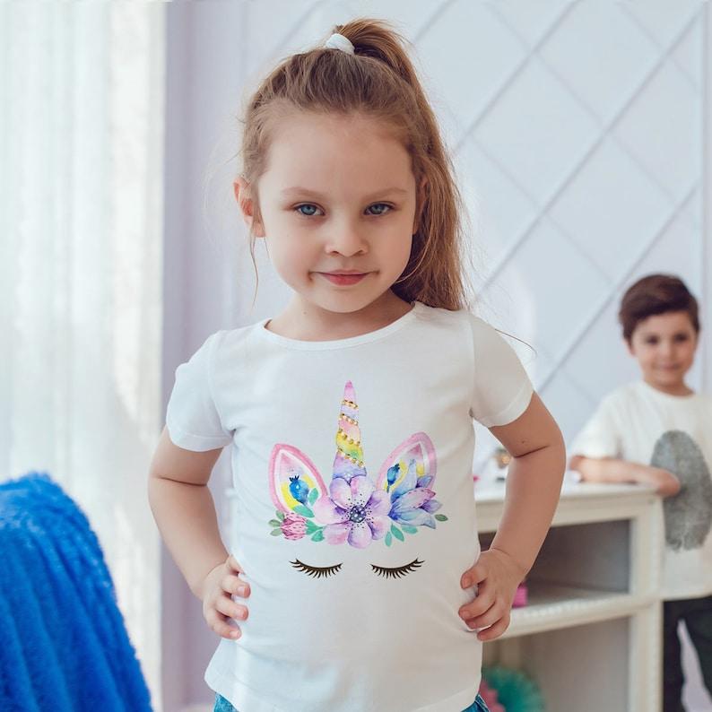 Unicorn Shirt Unicorn Unicorn T-Shirt Unicorn Tshirt Girls image 0