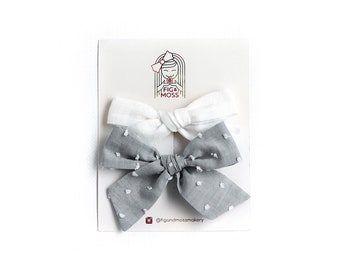 Wind In Her Hair | hand-tied bow set