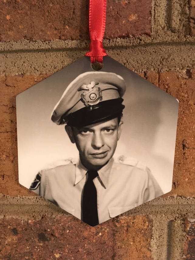 The Andy Griffith Show Barney Fife Christmas Ornament | Etsy