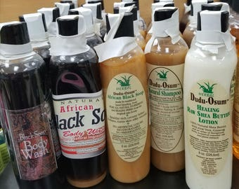 Natural Hair Products- Shampoo, Body wash, Conditioner or Lotion-These items sell INDIVIDUALLY