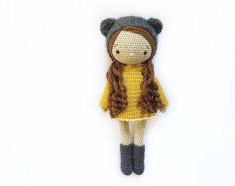 English: Crochet Doll Pattern-Kyoko 恭子 (Kimono Baby) | Crochet ... | 270x340