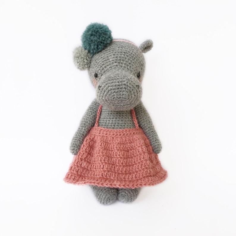 Crochet hippo amigurumi pattern | Amigurumi Space | 794x794