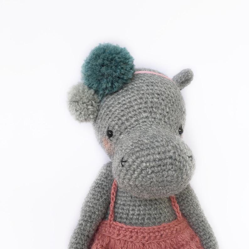 Ravelry: Hippo pattern by Mary Glazacheva | Crochet hippo, Crochet ... | 794x794