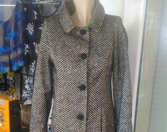STRIPED COAT (lined coat and green lining)