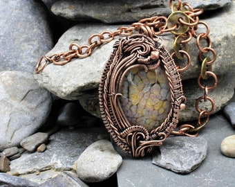 Limited Edition Artisan Components Shown in Oxidized Copper Hand forged 2pcs
