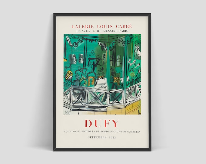 Retro exhibition posters