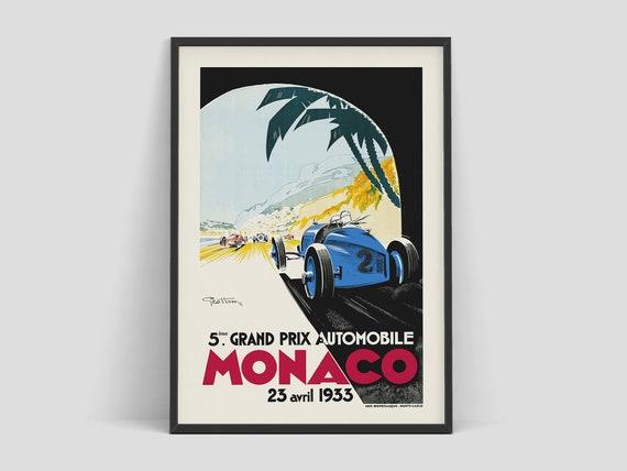 Vintage Ferrari Exhibition Poster A3//A4 Print