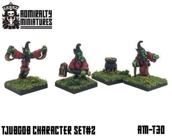 Tjubgob Character Set #2 15mm Fantasy Wargaming Admiralty Miniatures Sculpted by Tobias Torstensson Hobgoblin Hobgoblins Hobgobs Hobos Gobs
