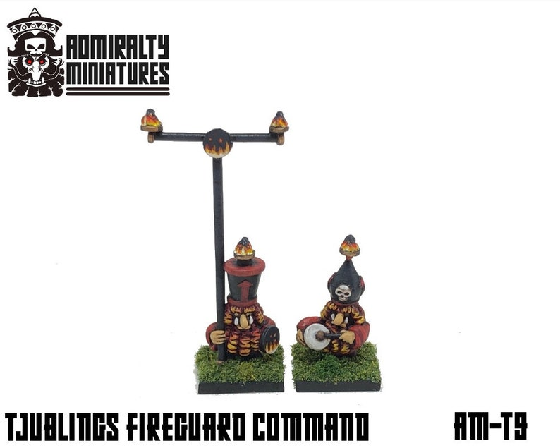Tjubling Fireguard Command 15mm Fantasy Wargaming Admiralty image 0