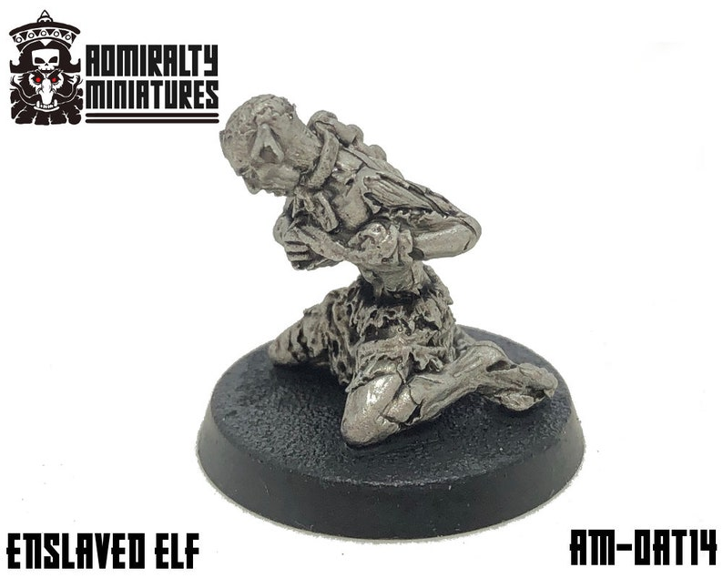 Enslaved Elf of Ancient Times 28mm Admiralty Miniatures image 0