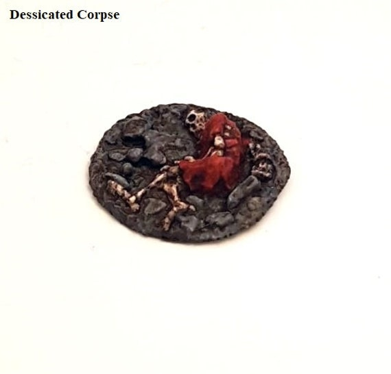 Dessicated Corpse of Ancient Times 28mm Admiralty Miniatures model fantasy  dungeon clutter miniature wargaming undead cadaver Goblin slave