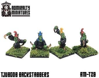 4 Tjubgob Backstabbers 15mm Fantasy Wargaming Admiralty Miniatures Sculpted by Tobias Torstensson Hobgoblin Hobgoblins Hobos Hobgobs Tjub