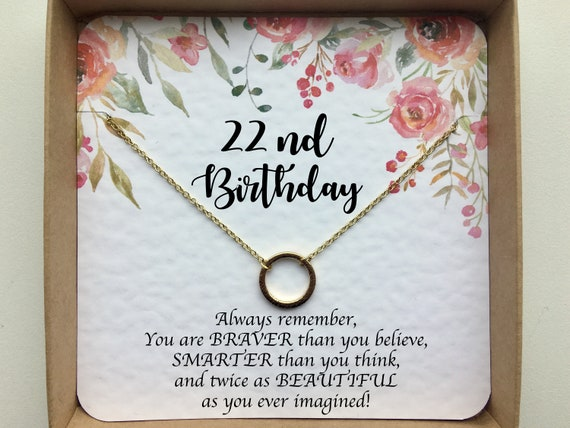 22nd Birthday Gift For Her Best Friend