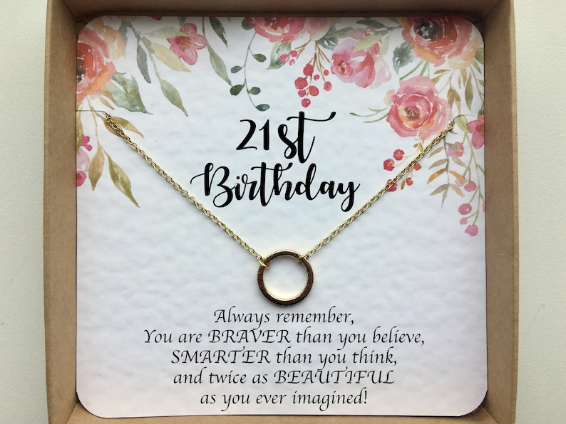 Gift For Best Friend Daughter Niece Sist 21st Birthday Her Sister Girlfriend