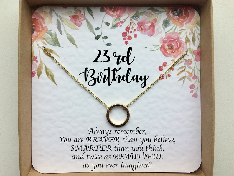 23rd Birthday Gift For Her Best Friend