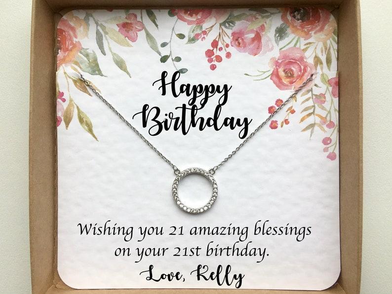 21st Birthday Gift For Her Gift For Best Friend Gift For
