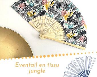 Fan, fabric fan, Japanese fan, custom fan, fancy fan, wedding decoration, fan