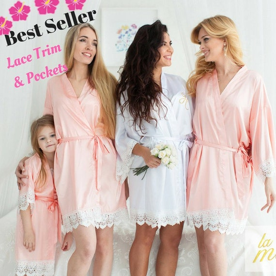 4e8af01cd0 40% OFF SALE Bridesmaid Robes Silk Bridesmaid Robe