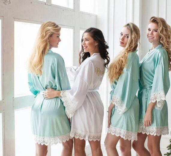 5b12e5c626 Big Sale Bridesmaid Gift Bridesmaid Robes Bridal Party