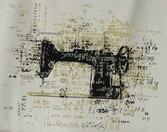 Sewing Dream - DreamMachine- cool Supertrash 3 colors motif