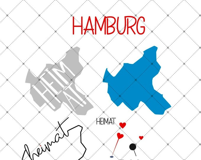 HEIMAT - Hamburg - 3 motives