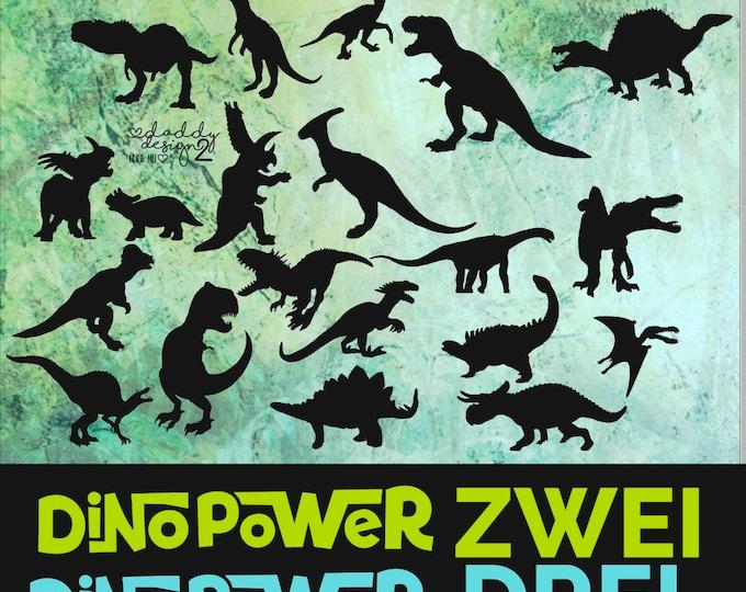 SET Dino Power - Shadows - TWO and THREE