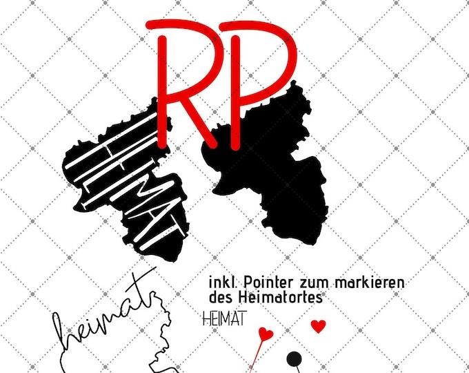 HEIMAT - Rhineland-Palatinate - 3 motives federal states