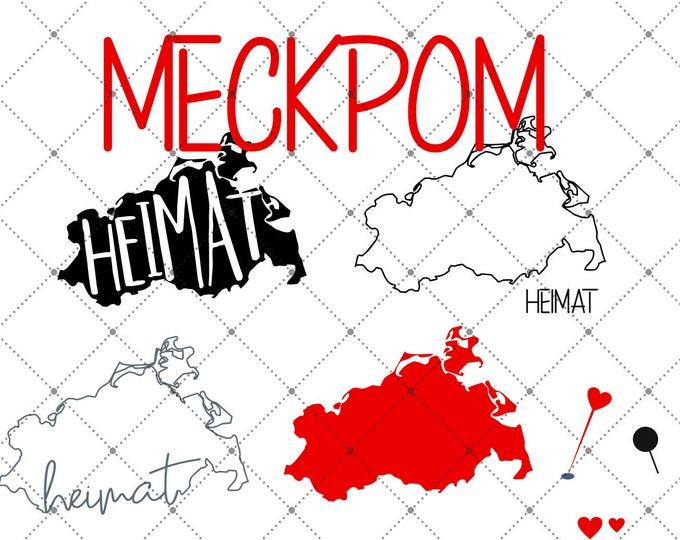 HEIMAT - Mecklenburg-Vorpommern - Meckpom - 3 motives
