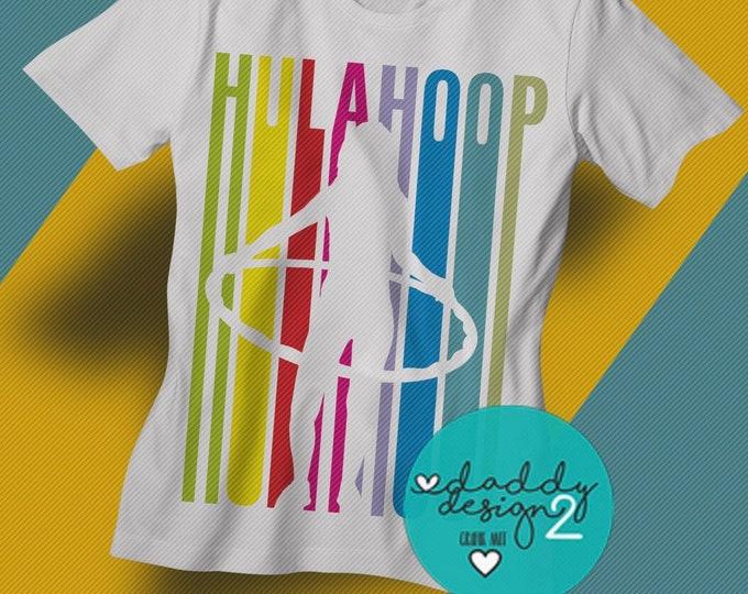 Hula Hoop LINES - Sport Lines HulaHoop dxf svg png