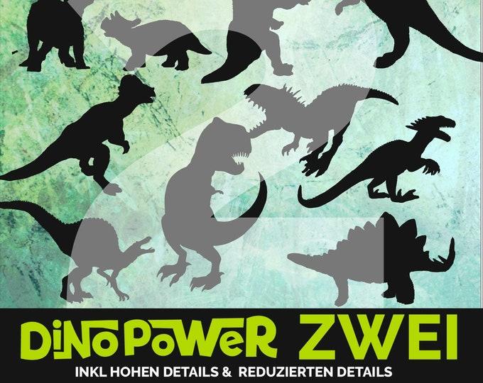 Dino Power - Shatten - TWO - Dinosaurs