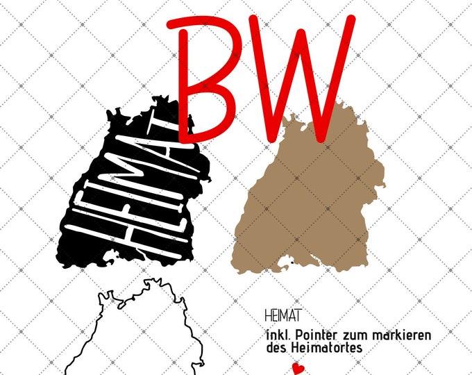 HEIMAT - Baden-Württemberg - 3 motives federal states