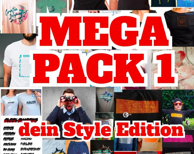 MEGAPACK 1 Your Style! Your life! Edition