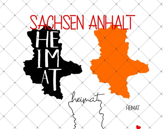HEIMAT - SACHSEN-ANHALT - 3 motives Of the länder DSachsen-Anhalt
