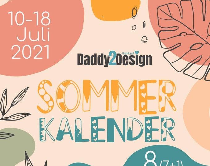 Daddy2Design Sommer-Kalender 8  Dateien