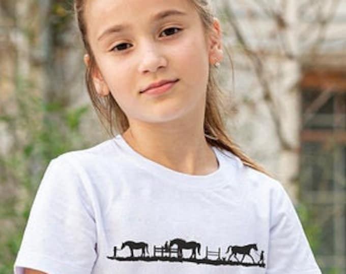 PFERDE - DEKO Plott Tshirt Version Horse Love