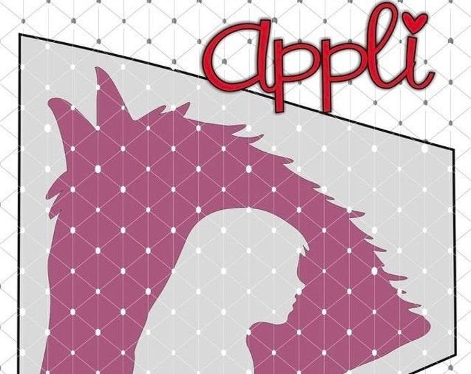 Horse Love - Riding - Horse Shadow Appli + BONUSDEKO