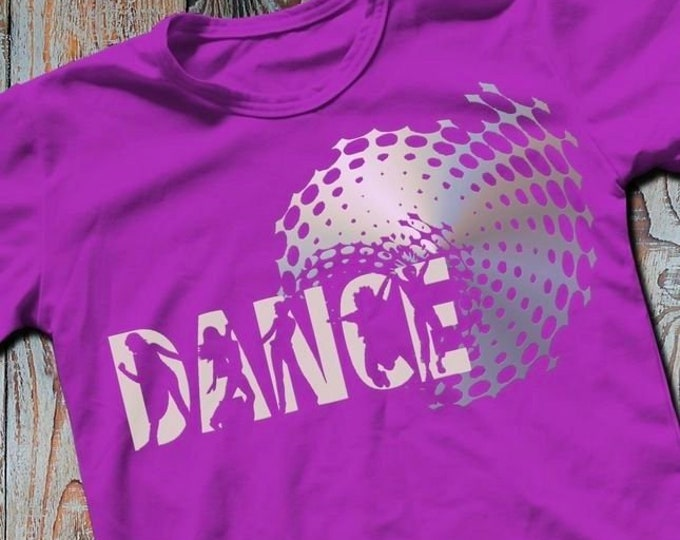Shadow Sport-DANCE-Combined file with decoration as SVG DXF plot file and png to print