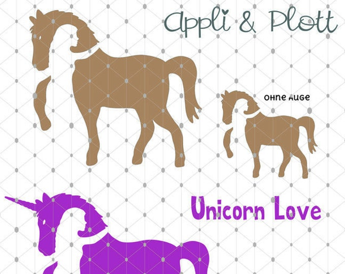 APPLI Horse Love Riding Horse Horse Love Unicorn + BONUS