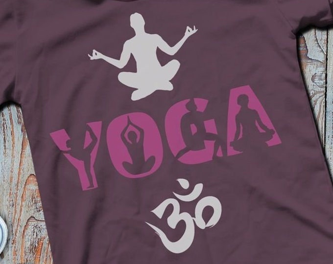 Shadow Sport-YOGA as SVG DXF plot file plot file and png to print