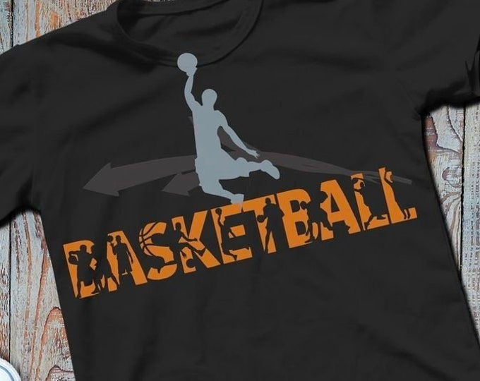 Shadow Sport-BASKETBALL-Combined file as SVG DXF plot file and png to print