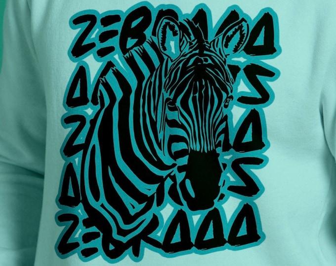 ZEBRAAA Teens and Style Version Zebra